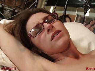 Nerdy Girl In Glasses Fucked Deep