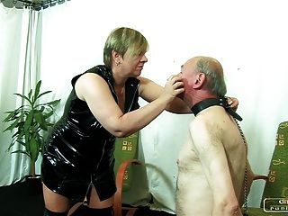 The Sadist Granny Vi - Face Slapping, Caning, Whipping