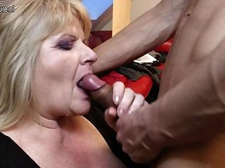 Old Grandma Gets Fucked By Her Lucky Toyboy