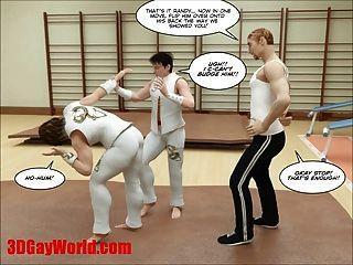 Kung Fu Boys 3d Gay Cartoon Animated Comics American Hentai