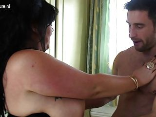 Amateur Uk Mom With Big Tits Banged By Young Boy