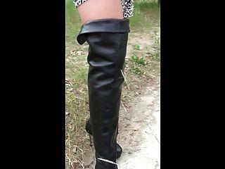 Julie gangbanged in designer most extreme heels amp creampie 1