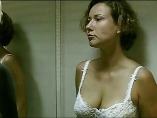 German Actress Removes Her Bra