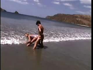 Sally Layd On The Beach