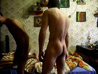 Two Azeri Men (24 And A Bit Elder) In Russia.