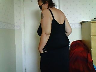Female Stripping In Bedroom