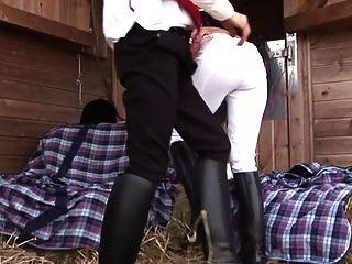 British Slut Jodi Gets Fucked In Riding Boots