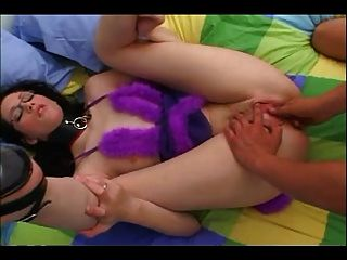 Kerri Has New Baby Doll For Ass-to-mouth