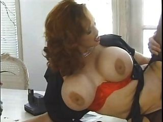 Curly Redhead Goes For Pussy