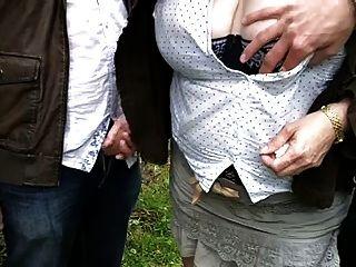 Wife Enjoying With Strangers