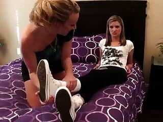 Lesbian Socks Smelling