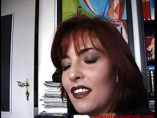 Shy Redhead Milf Shows Tits After Long Discussion On Street
