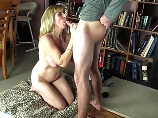 Blow-job For A Young Neighbour