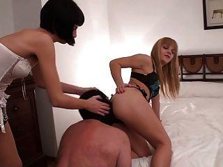 Pathetic Slave Worships Ass