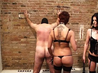 Whipped By Two Latin Mistresses In Lingerie