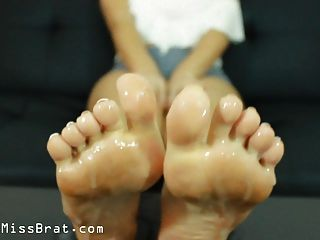 Pov Cuckoldress Foot Humiliation Clean Up Feet