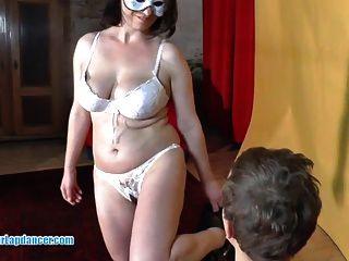 Sexy Lapdance By Busty Czech Amateur