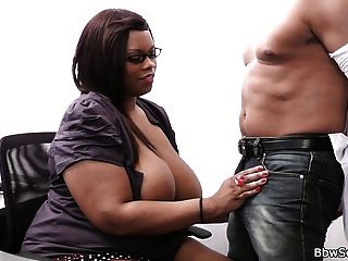 Cheating On Wife With Ebony Bbw Secretary