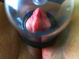 Pumping Pink Pussy Clit
