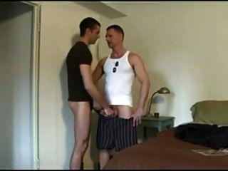 Dad And Son Jerk Off N Suck Togheter