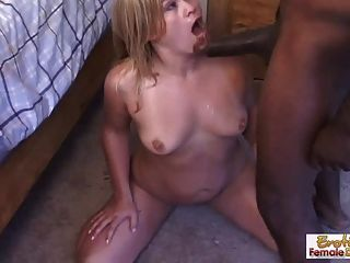 Hot Housewife Fucks Her Hung Black Neighbor While Hubby Is A