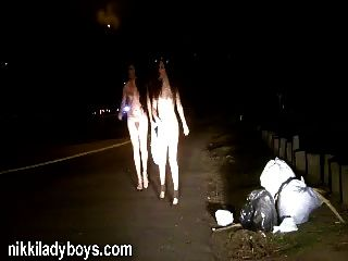 Nikki Ladyboys Public Nudity And Prostitution