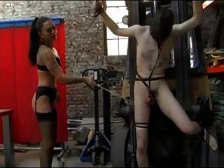 Brutal Whip On Cock -bymn
