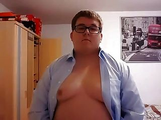 Young Chubby Stripping