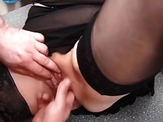 My Sexy Piercings Pierced Granny In Stockings Fisting