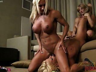 Alura jenson ashlee chambers and wildkat muscle lesbians 5