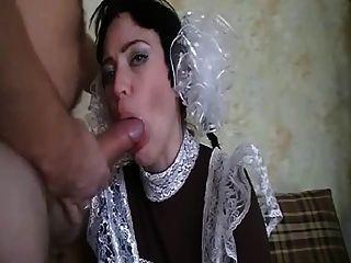 Hot Russian Blowjob And Sex