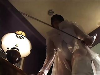 Tall Asian Mistress Demolish Her Small Slave