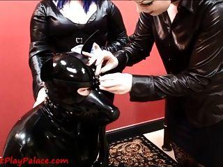 Transforming Our Rubber Puppy Slut!