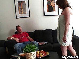 He Fucks Old Girlfriends Mother