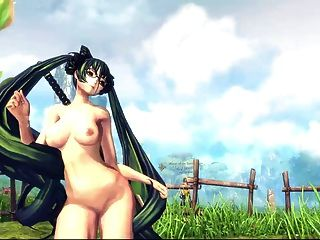 Blade & Soul Sexy Naked Dance. Tribute Me!