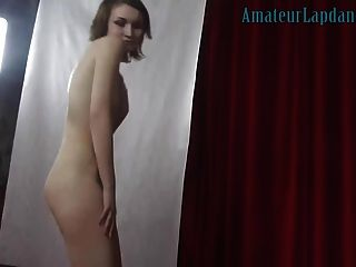 18yo Cutie Does Stripshow For Horny Teen Guy