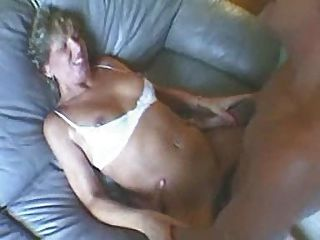 Old Mom Has Great Sex On Her Sofa