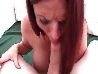 Hot Sexy Redheaded Babe Smoking Sex