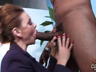 Marvelous Mother Janet Mason Used By Fat Black Cock