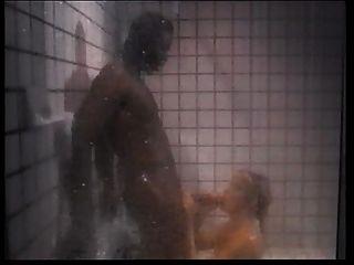 Silver Forrest Fucks Black Tramp In The Shower