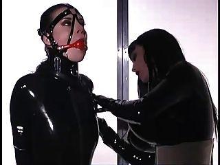 Mistress Latex Bondage