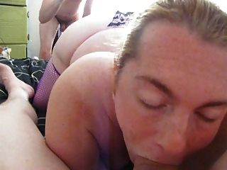 Giving Step Father In Law Blow Job