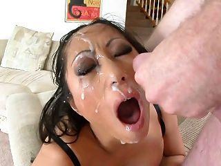 Asian Girl Face Fucked And Spermed 01