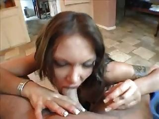 Hot Euro Anna Nova Smoking Blowjob