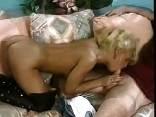 Hot Tease In Leather Thigh Boots Stripped Bare & Fucked