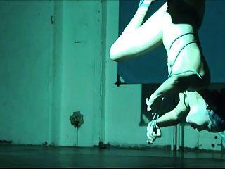 Ballerina Shibari Self-bondage And Suspension