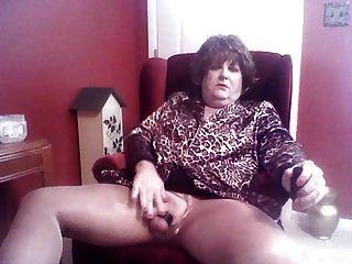 Krissy Ripped Pantyhose Fun