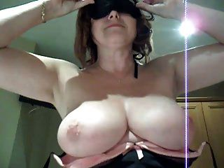Busty Uk Mature Riding Cock