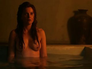 Spartacus: Lucy Lawless And Viva Bianca Topless