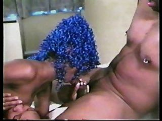 Eddie & Zoe & Their Blue-haired Freak